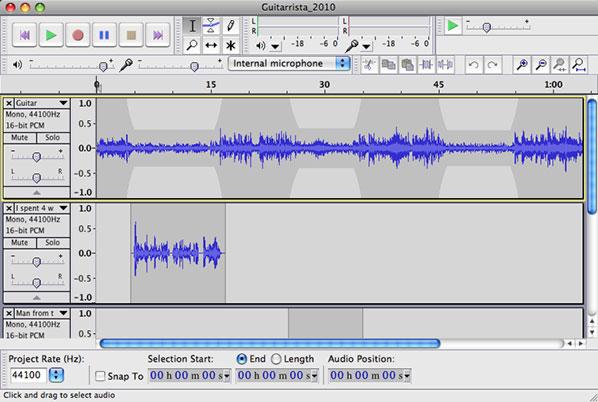 Multitrack Audio Exercise Multimedia Reporting